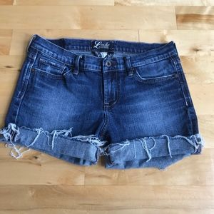 Lucky Brand Cut Off Shorts Stark Sweet & Low 6 28
